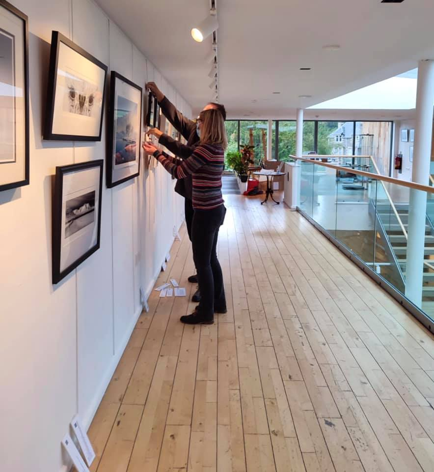 Birnam set up –checking it all from different angles